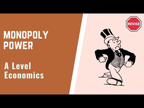 As Economics - Monopoly Power