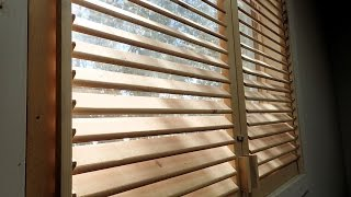 Making Wooden Blinds Final