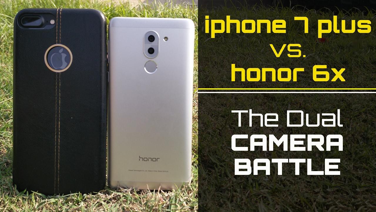 Honor 6x Vs Iphone 7