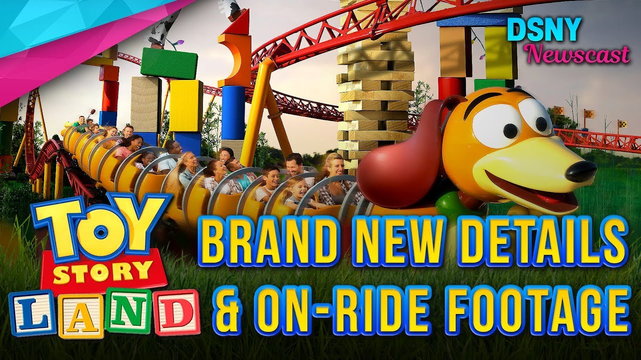 Toy Story Land On Ride Footage New Details For Walt Disney World