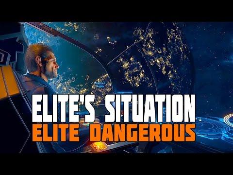 Elite Dangerous: Canonn Mega Ship - The Situation with Elite
