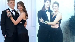 Teen Wears Same Dress to Prom Her Late Mother Wore in 1998
