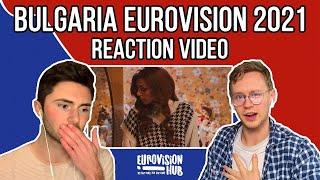 Bulgaria | Eurovision 2021 Reaction | VICTORIA - Growing Up Is Getting Old | Eurovision Hub