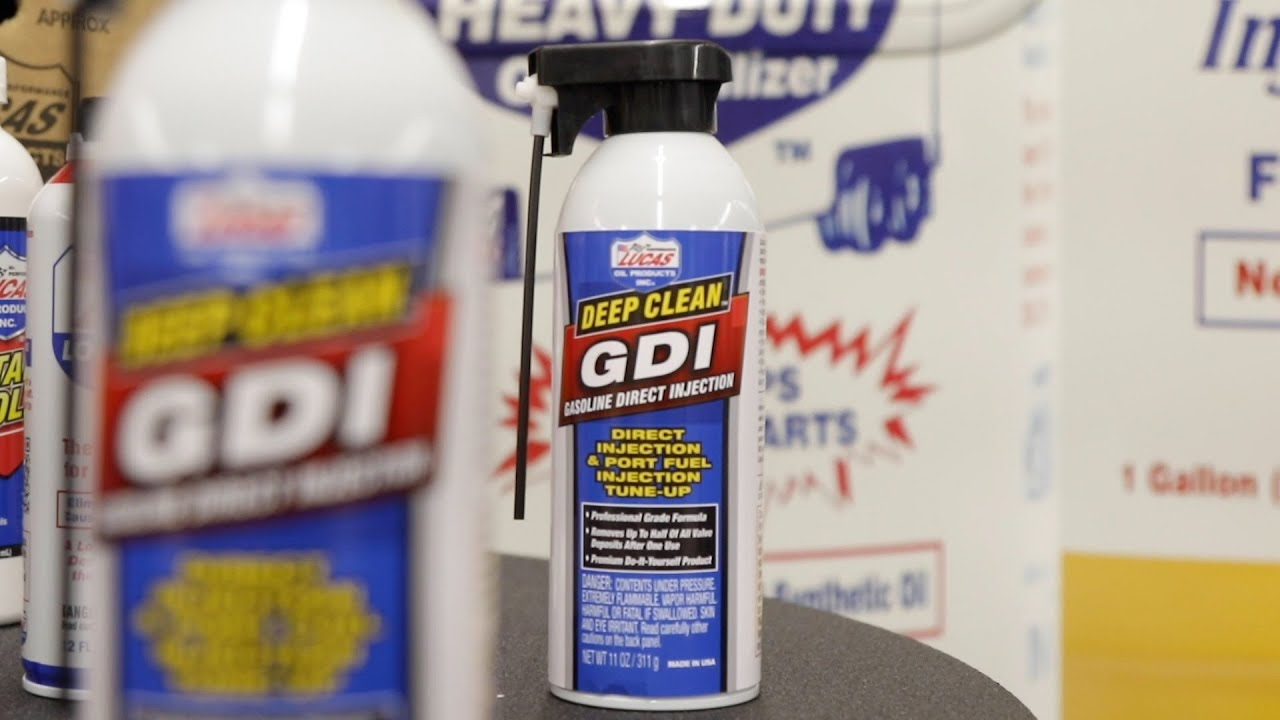 Deep Clean™ GDI | Lucas Oil Products