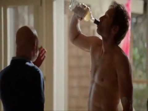 "Hank Moody (s06): ""Contemplating a new novel"" and ""Delicious"""