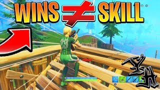 WHY Wins DONT MATTER in Fortnite! (Proof) Xbox/Ps4 Tips and Tricks! (How to get better at Fortnite)