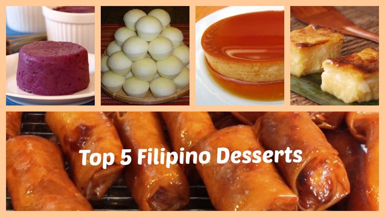 Top 5 Filipino Desserts