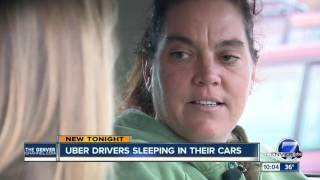 Uber, Lyft drivers sleeping in their cars