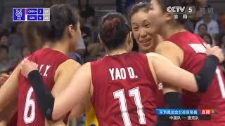 China Vs República Checa | Clasificación Olímpica Tokyo 2020 | 3set
