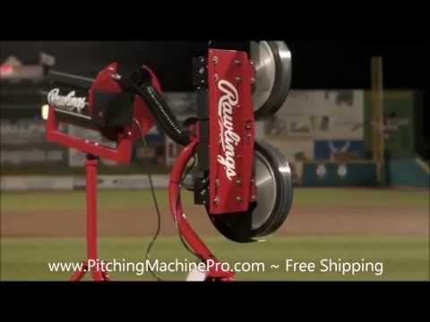 Rawlings Pitching Machine Automatic Baseball Softball Feeder