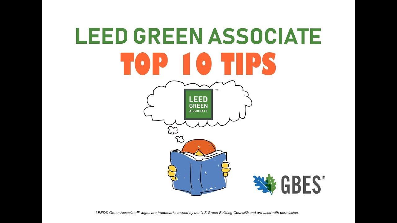 Leed Green Associate Exam Prep Top 10 Tips 2018 Youtube