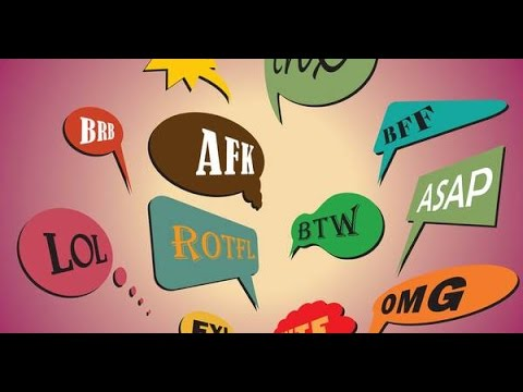 Most Common Chat Abbreviations - Text Messages - Text abbreviations - Texting Symbols