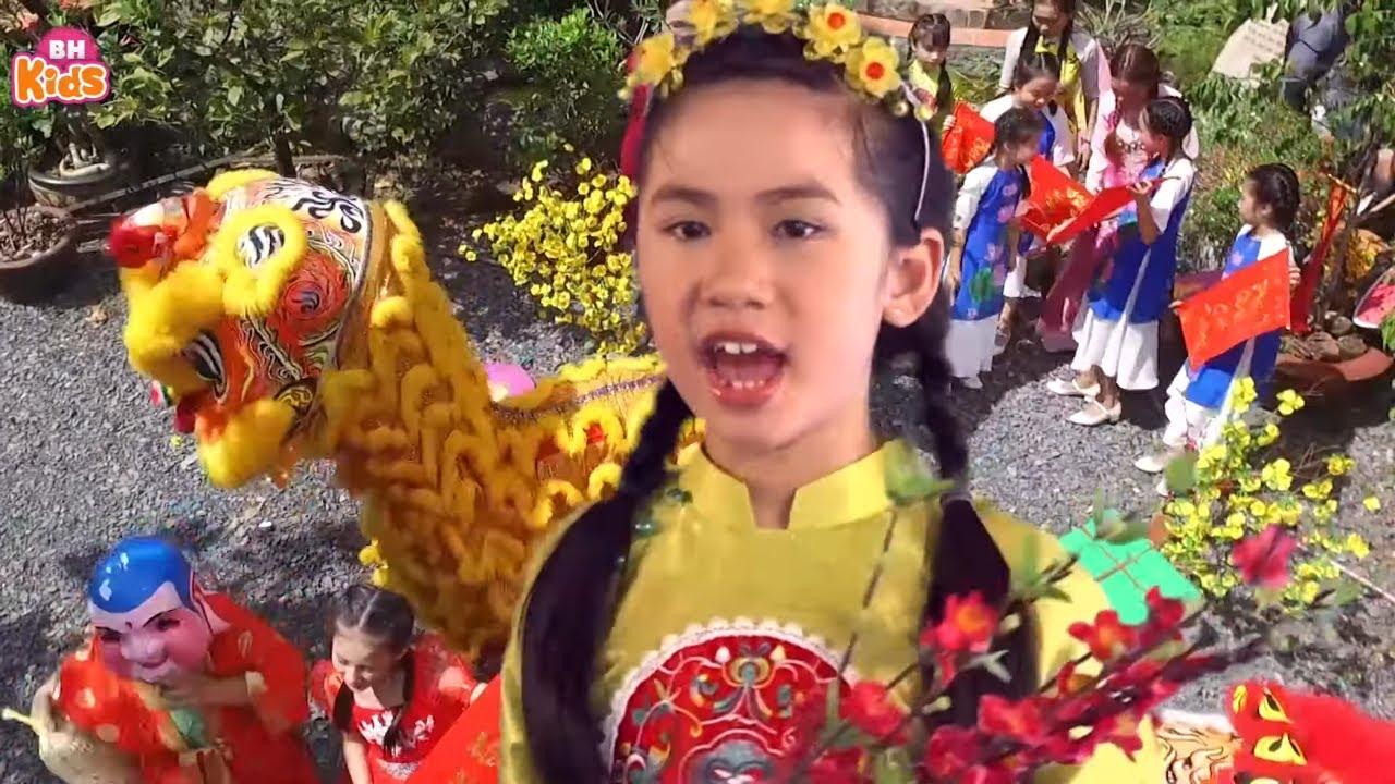 Quê Hương Mùa Xuân ♫ Nhạc Tết Thiếu Nhi 2020 ♫ Vui Đón Xuân Sang Nghe Vè Năm Mới Năm Me ♫ Quý Dương