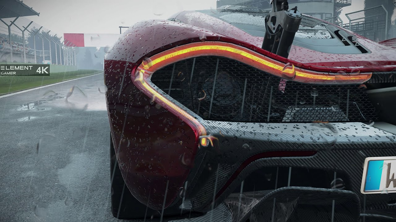 Project cars mclaren p1 4k ultra settings rain showcase - Project cars mclaren p1 ...