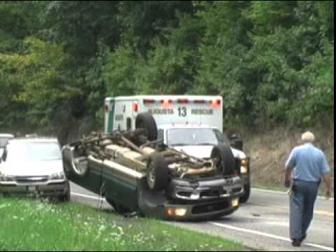 One ejection in Rt  50 accident