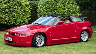 This Insanely Rare Alfa Romeo SZ is Utterly Bonkers, and Brilliant
