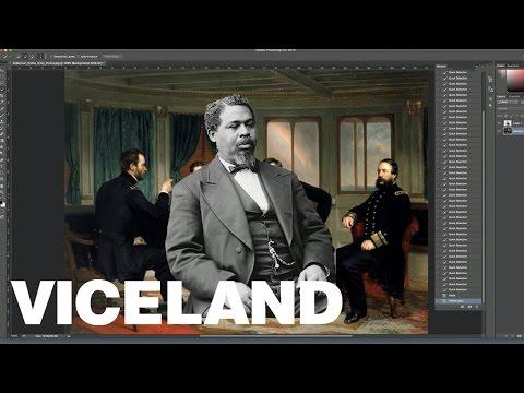 Black Trademarked Photo Editing Software History: Robert Smalls