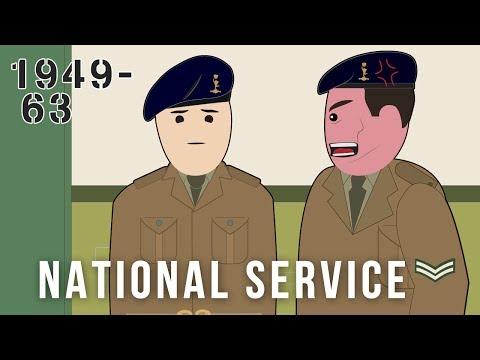 National Service (1949-63)