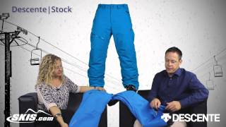 2016 Descente Stock Mens Pant Overview by SkisDotCom