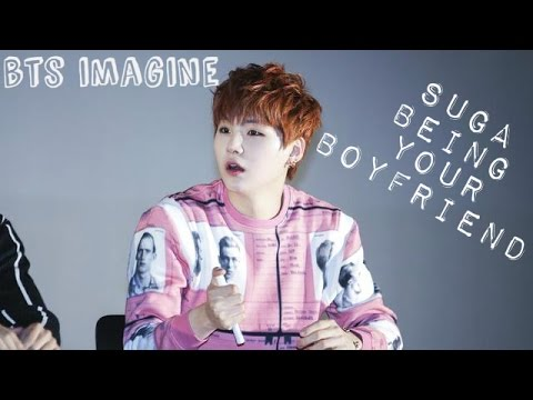 BTS Imagine: Suga being your boyfriend | Jealous Yoongi (ft  Jimin)