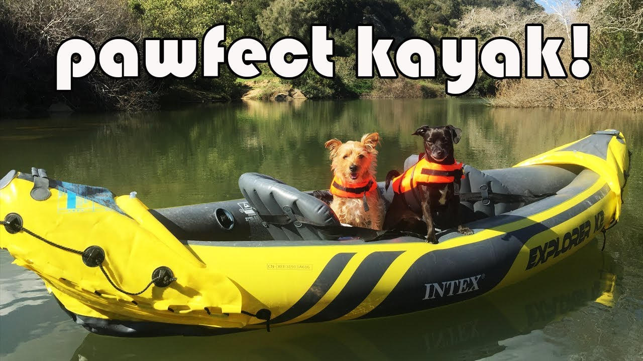 BEST INFLATABLE KAYAK - INTEX K2 EXPLORER