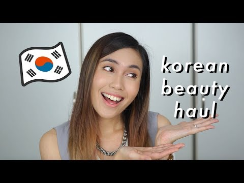 Korean Beauty Haul! | What I bought in Korea | Tiara S. Dusqie