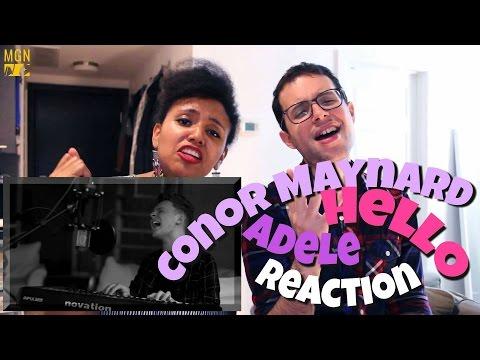 Conor Maynard cover of Adele's 'Hello' Reaction