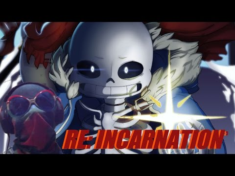 [Undertale] RE:Incarnation - Animation : DANCE TIME OF DETERMINATION..!!/ VIDEO REACCION-REACTION