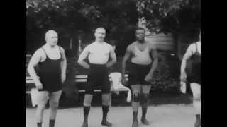 Борется Иван Поддубный, 1912 год