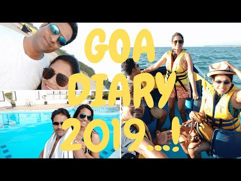Goa Diary 2019 (Palolem Beach, Benaulim Beach, Anjuna Beach ) North Goa, South Goa