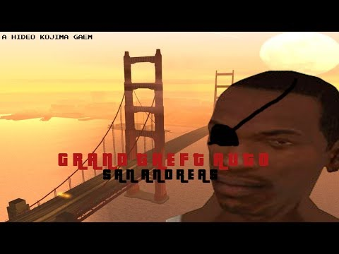 Grand Theft Auto: San Andreas But It`s Directed By Hideo Kojima