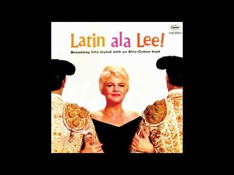 Peggy Lee - On the street where you live