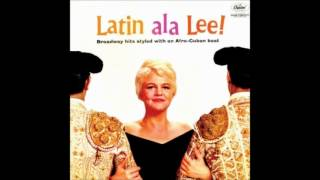 Watch Peggy Lee On The Street Where You Live video