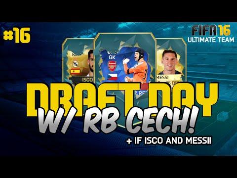 FIFA 16 - RECORD BREAKER CECH! DRAFT DAY #16!  - (Ultimate Team Draft Mode)