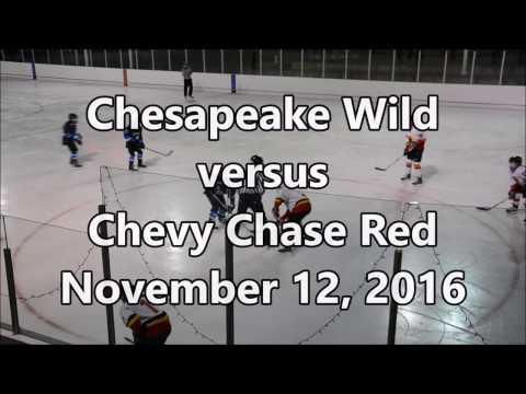 Chesapeake Wild vs Chevy Chase Red, November 12, 2016