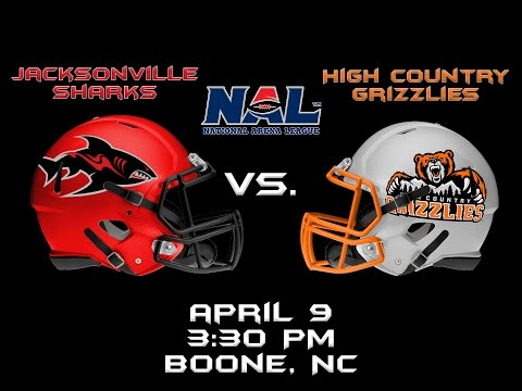 High Country Grizzlies V. Jacksonville Sharks