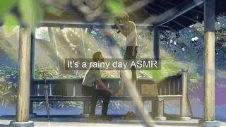 [台灣ASMR]午後的雨聲及鳥啼/Relaxing rainy day ASMR