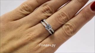 Кольцо для помолвки серебро z7314309(Серебряное кольцо с круглым фианитом и двумя дорожками фианитов для помолвки можно приобрести в ювелирном..., 2016-11-15T14:11:44.000Z)