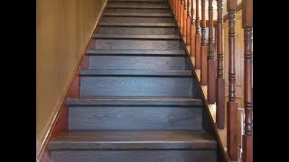 Quick-step Elite Old White Oak Dark, Planks Qs Ue1496 Flooring On Stairs