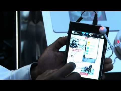 MWC 2012 - LG Optimus Vu
