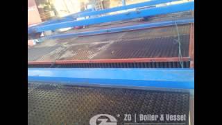 150 ton CFB Boiler, Circulating Fluidized bed boiler supplier and exporter
