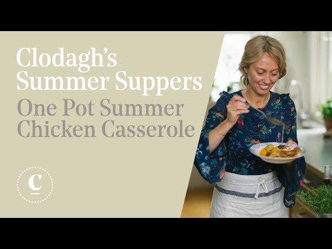 Clodagh's Summer Suppers | One Pot Summer Chicken Casserole