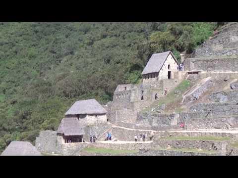 MACHU PICCHU:  INCAN RUINS