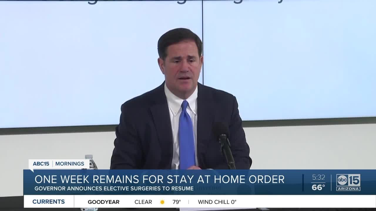 Ducey extends stay-at-home order through May 15 but eases some ...
