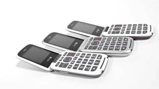 Produktvideo zu Schwerhörigen-Handy Doro PhoneEasy 613 Schwarz/Schwarz