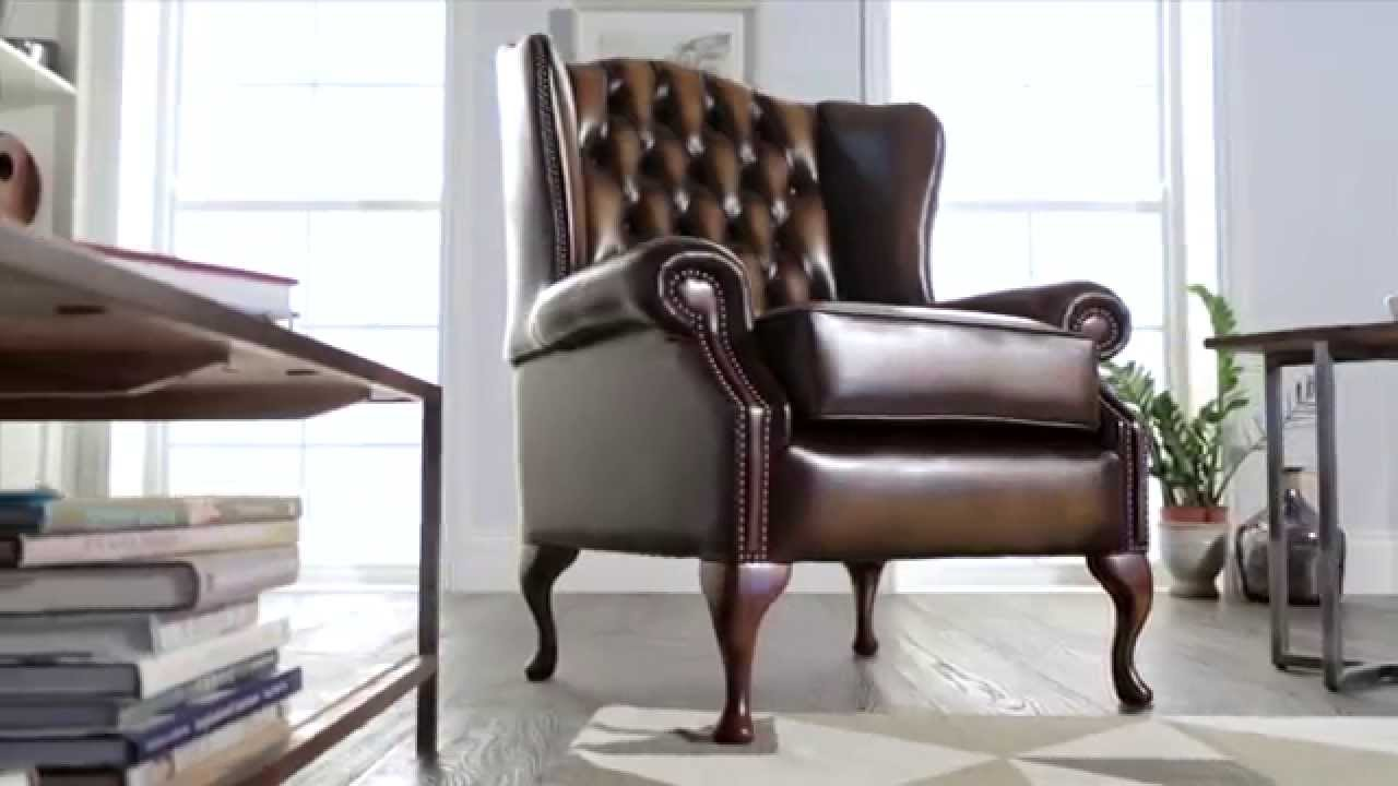 Classic Wingchair from Sofas by Saxon
