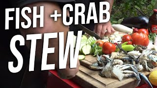 Jitterbug's Crab and Fish Stew