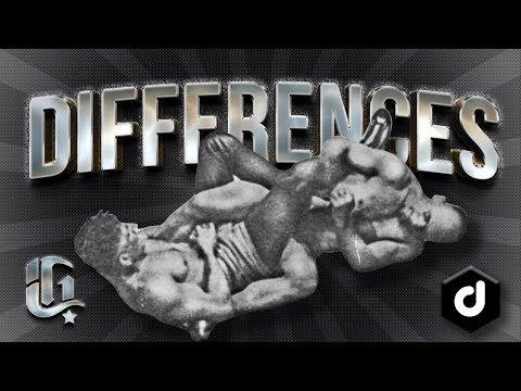 5 Differences between Catch Wrestling and Jiu Jitsu (German Subtitles)