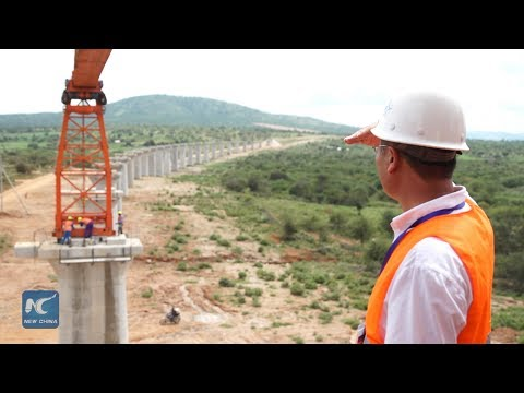 Build a new railway in Kenya, a Chinese engineer shares his story