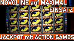 Novoline KRASS !!! 2020 Spielothek Jackpot ALLES VOLL auf #MaximalEinsatz LIVE